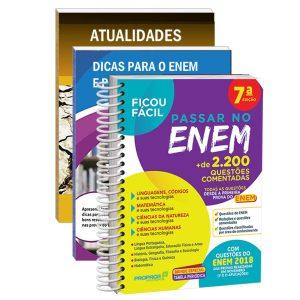 Kit Ficou Fácil Passar No ENEM 2019