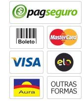 Para a sua segurança , todos nossos pagamentos são processados através do PagSeguro UOL